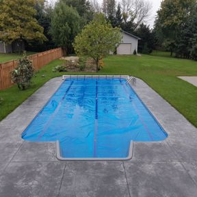 rectangle residential pool
